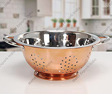 Colander With Copper