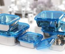 Square Storage Container With San Lid