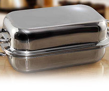 Capsule Shape Double Baking Tray
